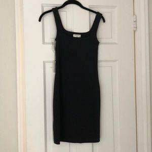 NWT Aritzia Babaton black mini dress xs black